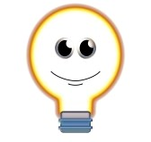 happy light bulb