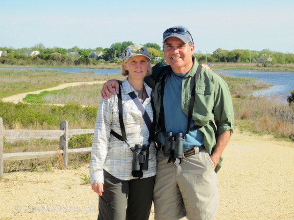 Gail and Ferd in Cape May 2013
