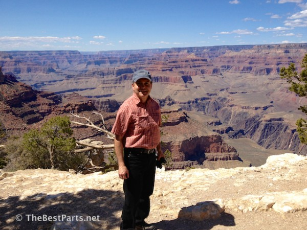 Ferd at the Grand Canyon
