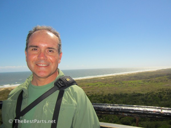 view from top of Hatteras Lighthouse
