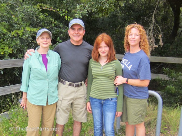 with Katherine and Elizabeth