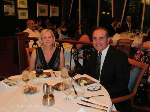 Freedom of the Seas formal dinner