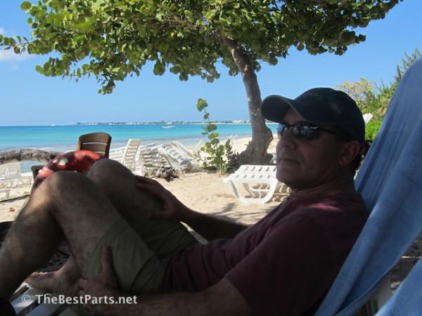 Grand Cayman beach Ferd