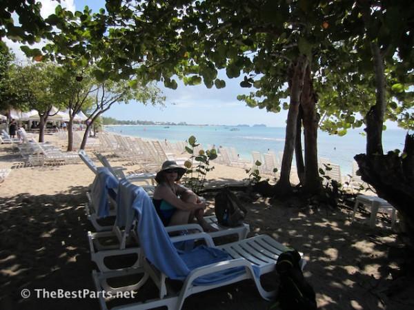 Grand Cayman beach Gail