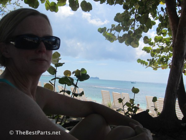 Grand Cayman beach Gail2